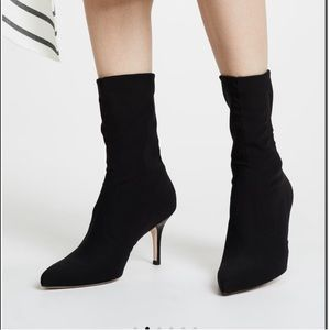 Stuart Weitzman axiom stretch sock boot